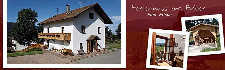 Ferienhaus am Arber im Bayerischen Wald